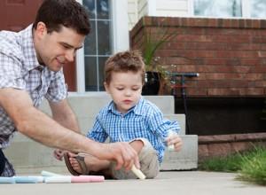 Η συμμετοχή του μπαμπά στο μεγάλωμα των παιδιών