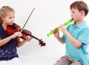 Μελέτη μουσικού οργάνου στο σπίτι