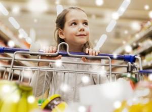 Ψώνια στην υπεραγορά με το παιδί