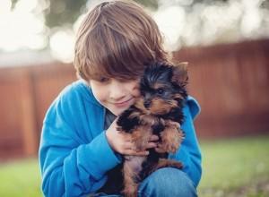 Σκύλος: Το αγχολυτικό των παιδιών