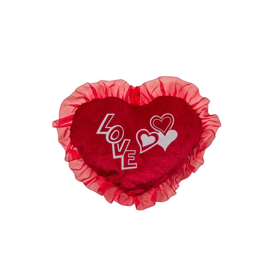 Καρδιά με τούλι 12691