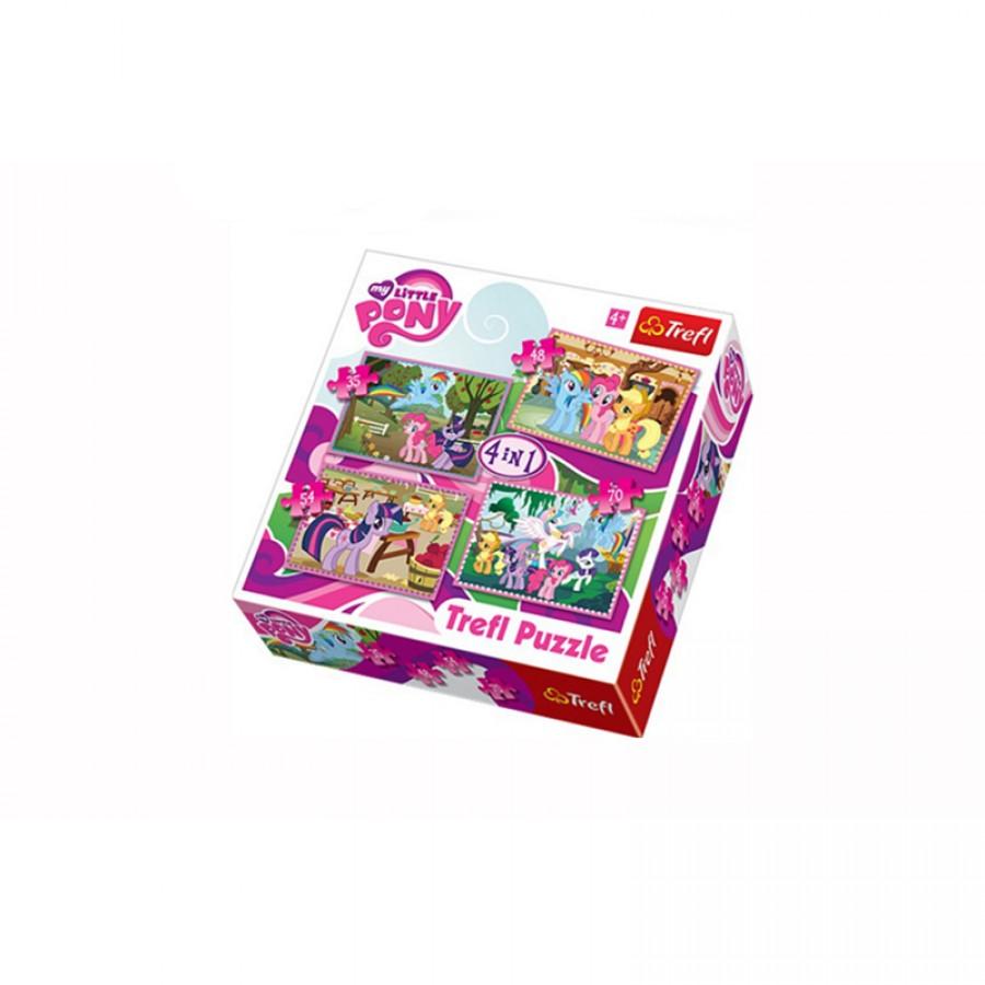 Παζλ 4 in 1 My Little Pony 4+ 11996