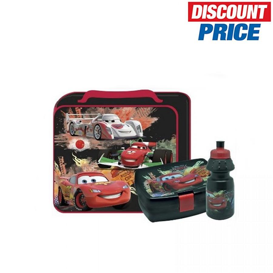 Τσάντα με δοχείο φαγητού και παγουρίνο Cars 12060