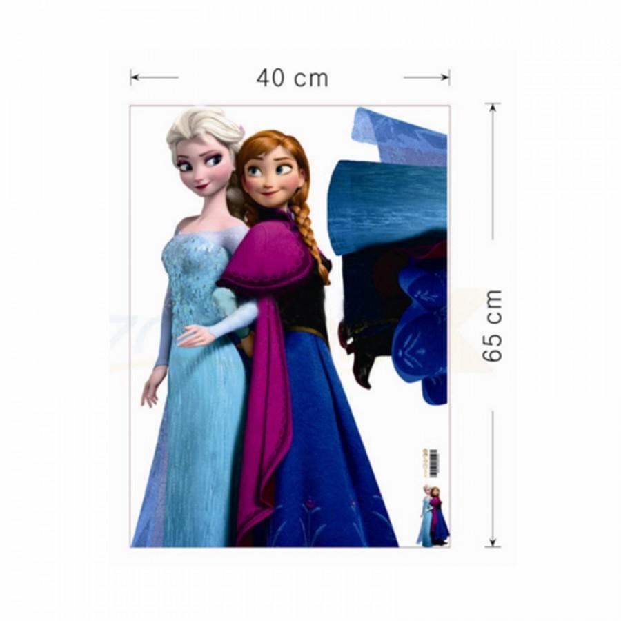 Αυτοκόλλητο τοίχου Frozen 12555