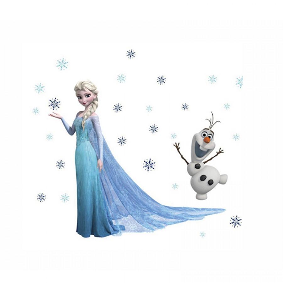 Αυτοκόλλητο τοίχου Frozen 12556