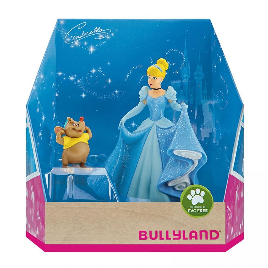 Φιγούρες Cinderella και ποντίκι Γκας 18044