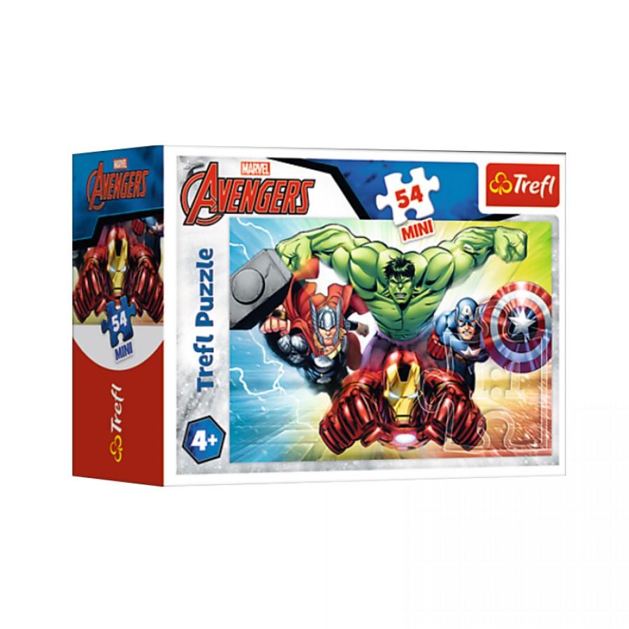 Μίνι παζλ Avengers 4+ 20100