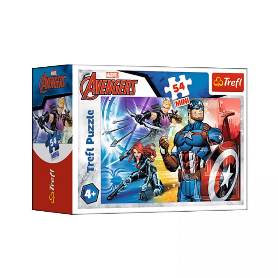 Μίνι παζλ Avengers 4+ 20101