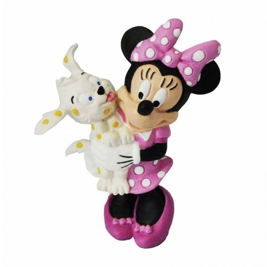 Φιγούρα Clubhouse Minnie Mouse με σκυλάκι 29375