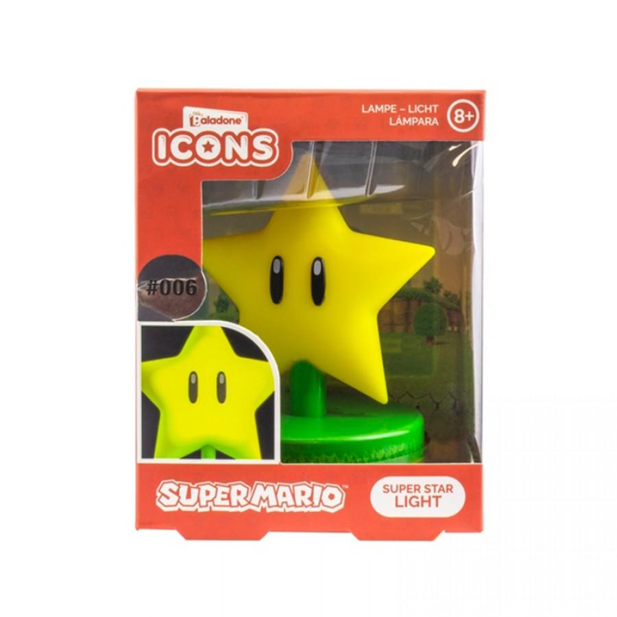 Super Mario φωτιστικό Super Star 29734
