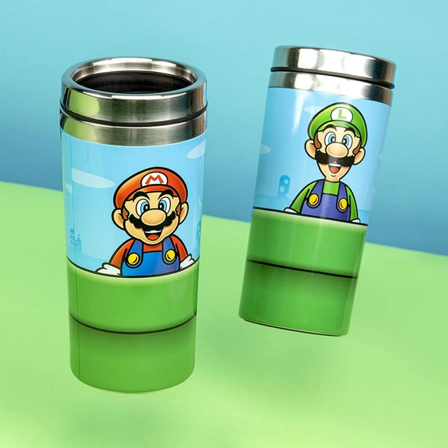 Ποτήρι ταξιδίου Super Mario και Luigi 31270