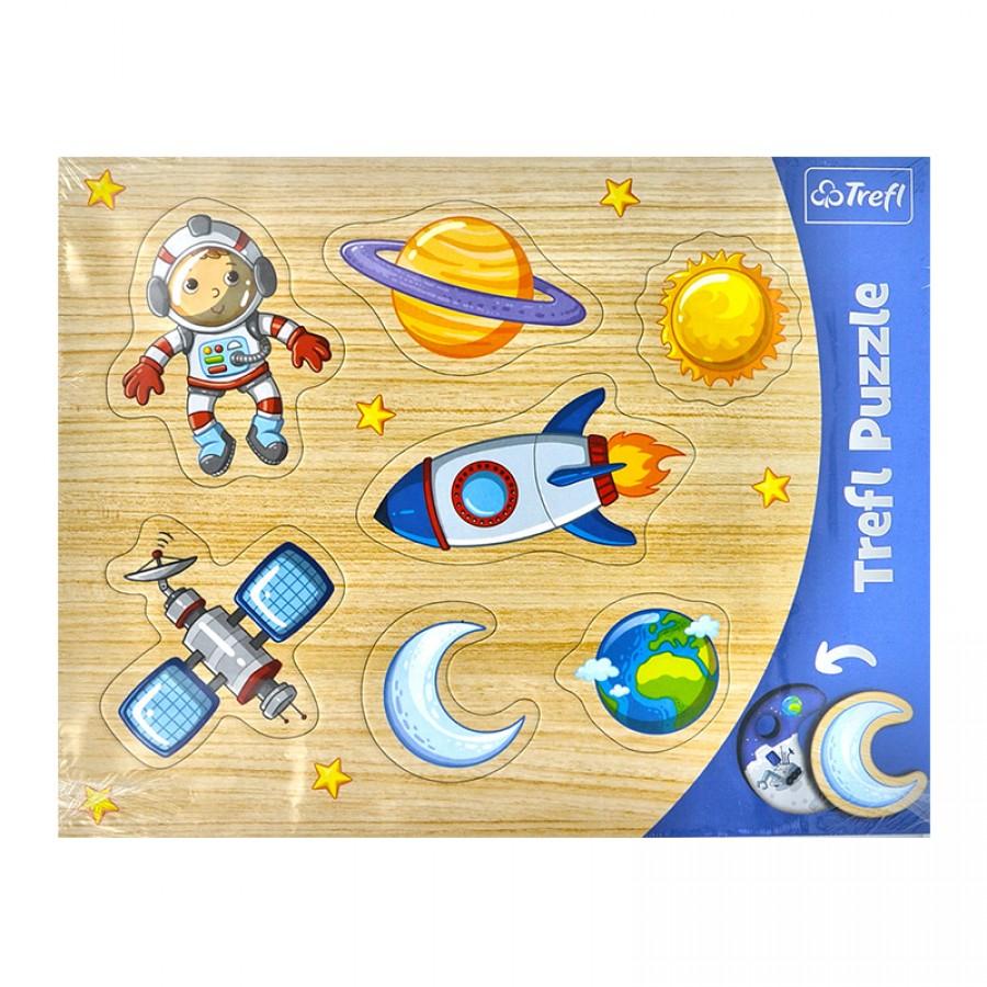 Παζλ σχήματα Διάστημα 2+ 53947