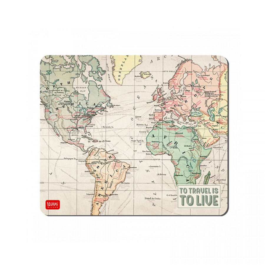 Mouse pad To travel is to live 70651