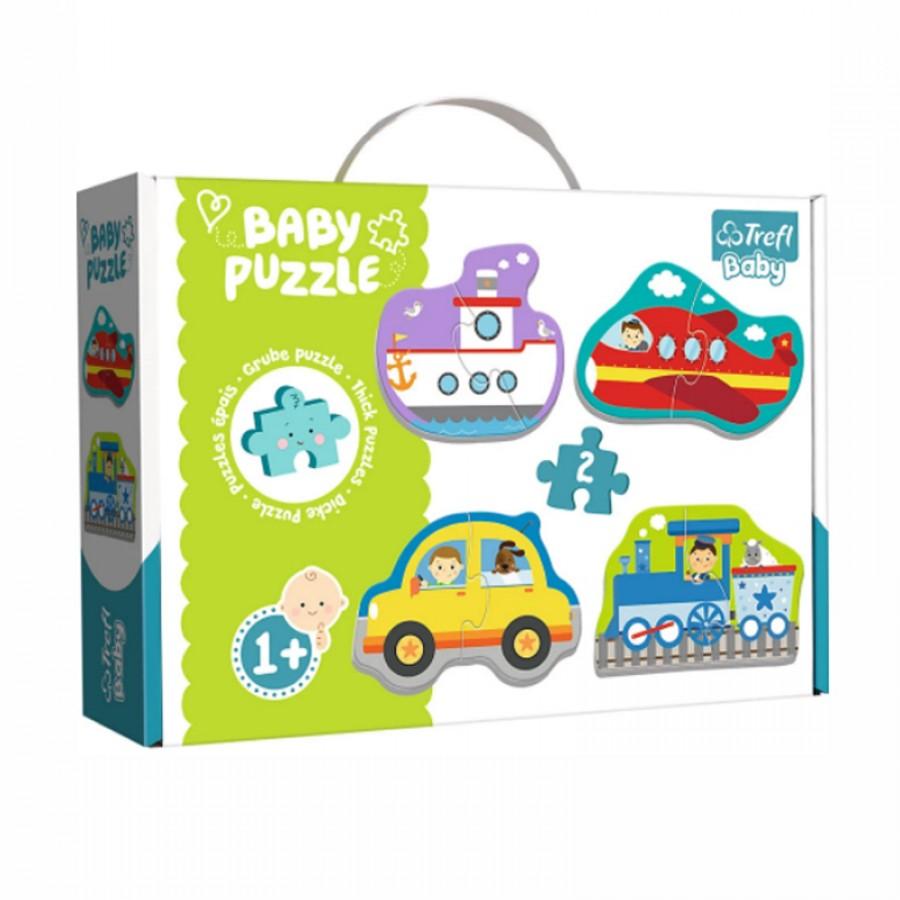 Baby παζλ οχήματα 1+ 753853