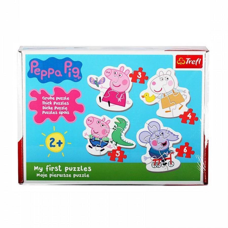 Baby παζλ Peppa Pig 2+ 753856