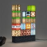 Φωτιστικό Minecraft building block 92256