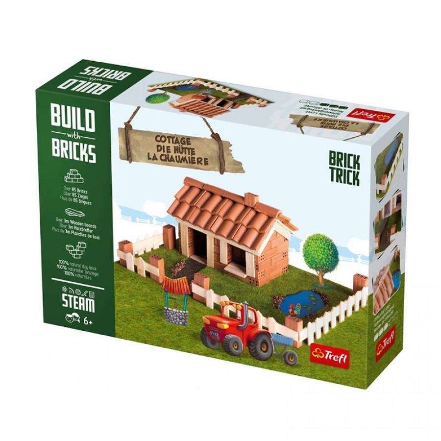 Κεραμικά τούβλα Brick Trick cottage 95287