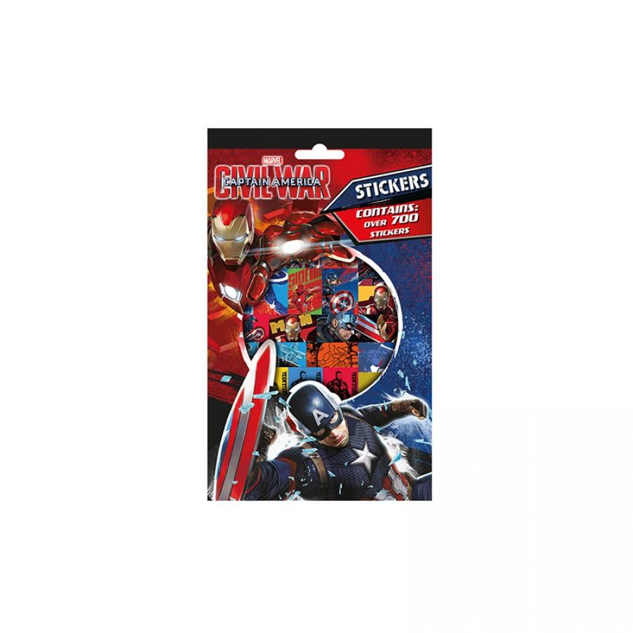 Αυτοκόλλητα Captain America 12585