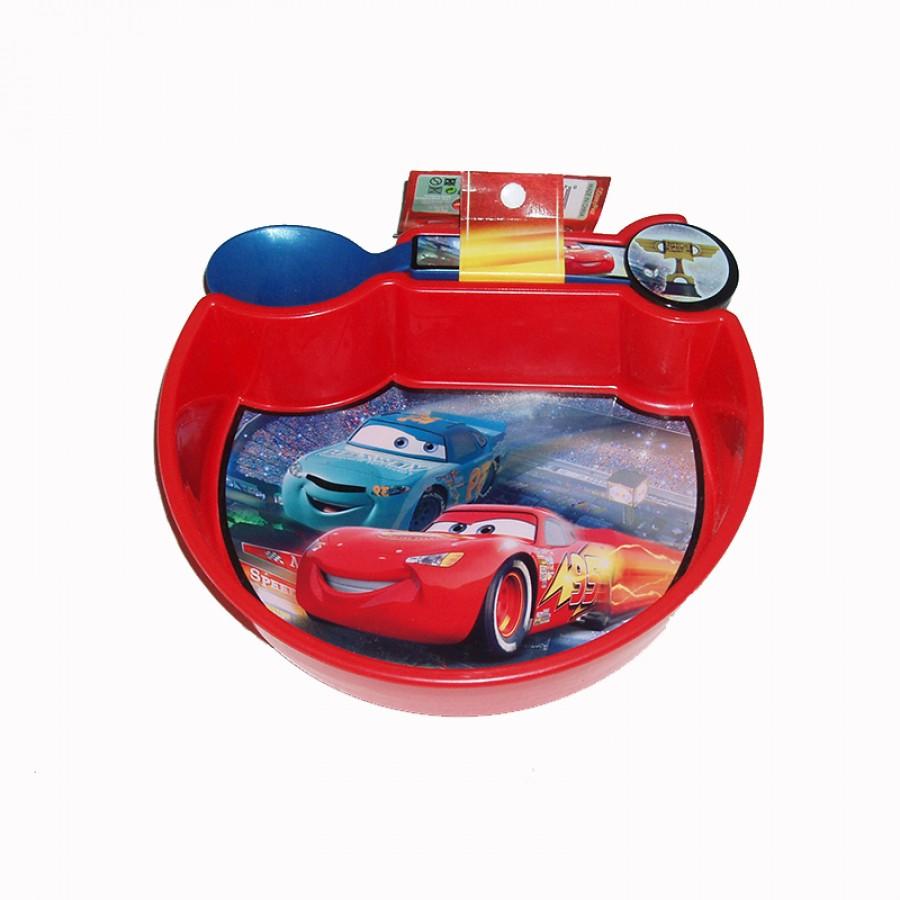 Πιατάκι με κουταλάκι Cars 15037