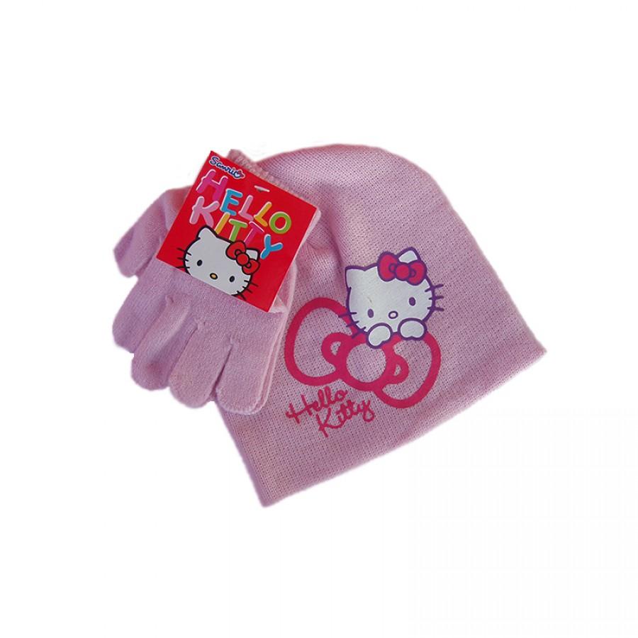 Σκούφος και γάντια Hello Kitty 12618