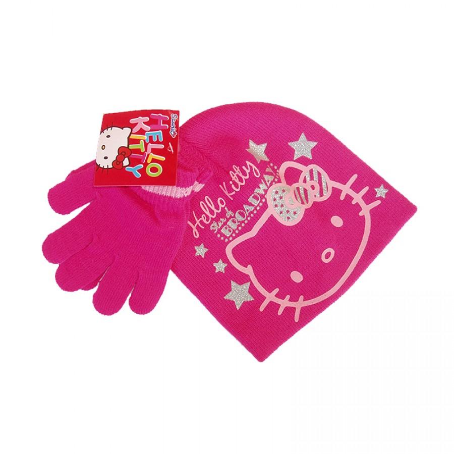 Σκούφος και γάντια Hello Kitty 12620