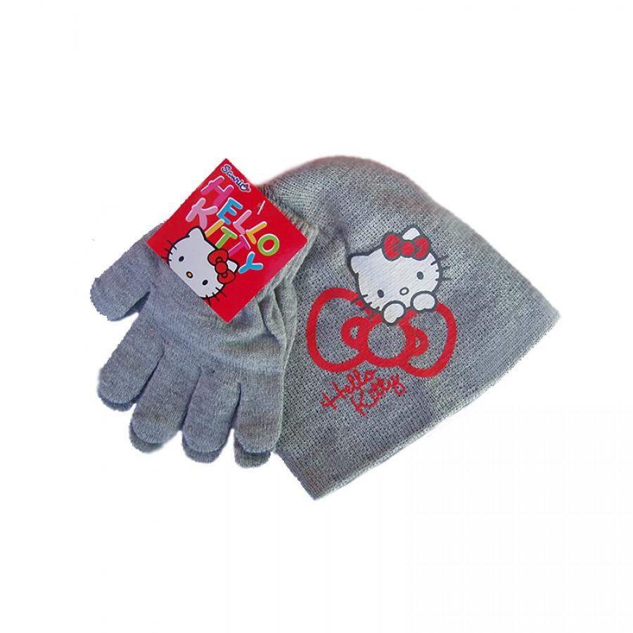 Σκούφος και γάντια Hello Kitty 12621