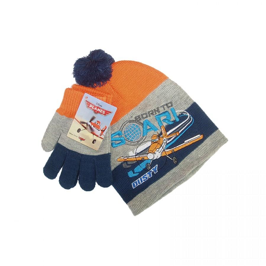 Σκούφος και γάντια Planes 12560
