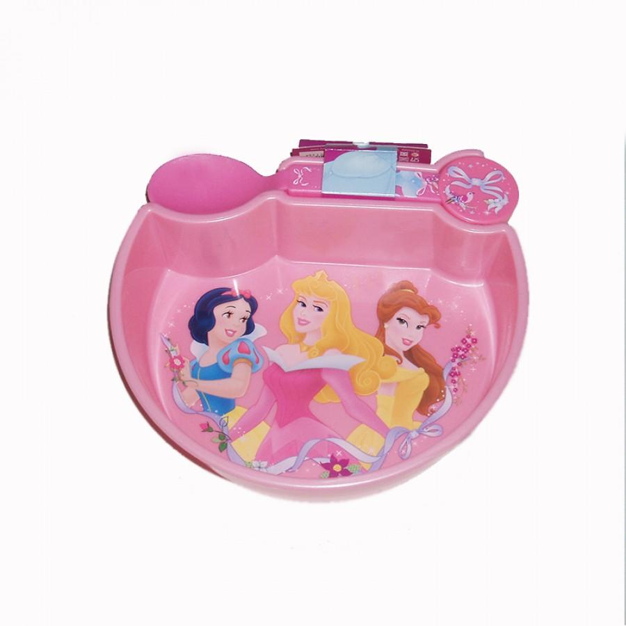 Πιατάκι με κουταλάκι Princess 15036