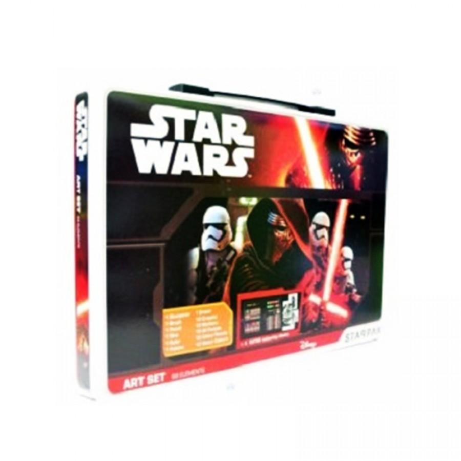 Κασετίνα ζωγραφικής Star Wars 13312