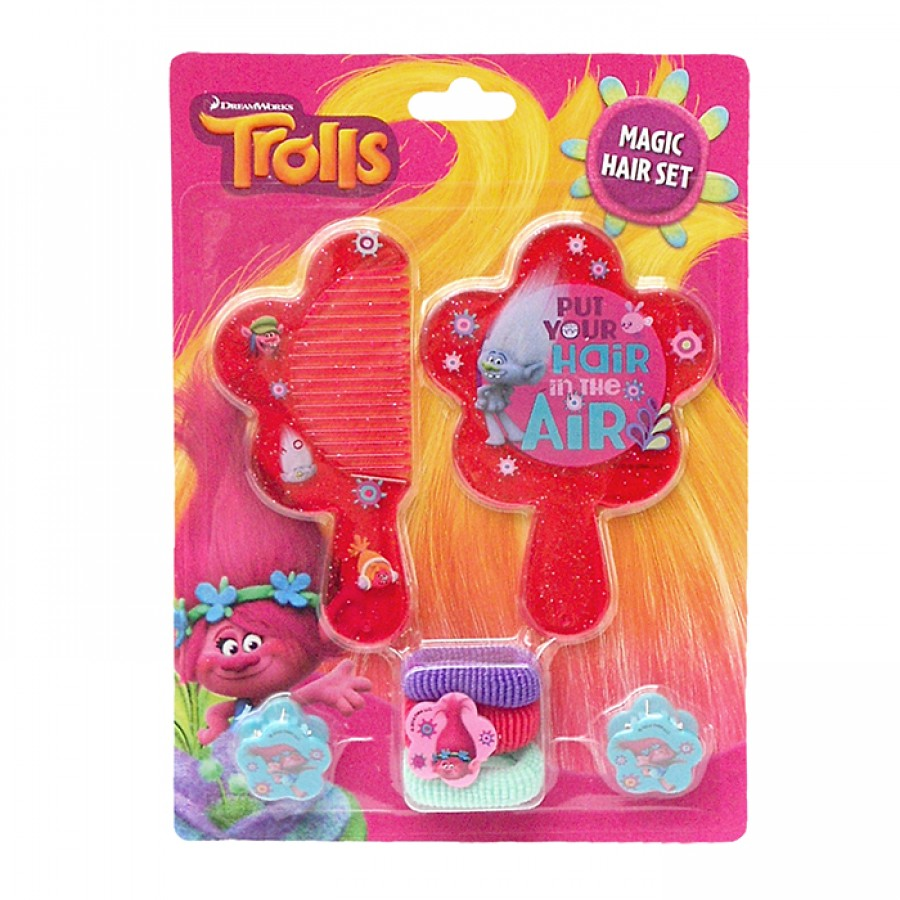 Trolls Magic Hair Set αξεσουάρ 14023