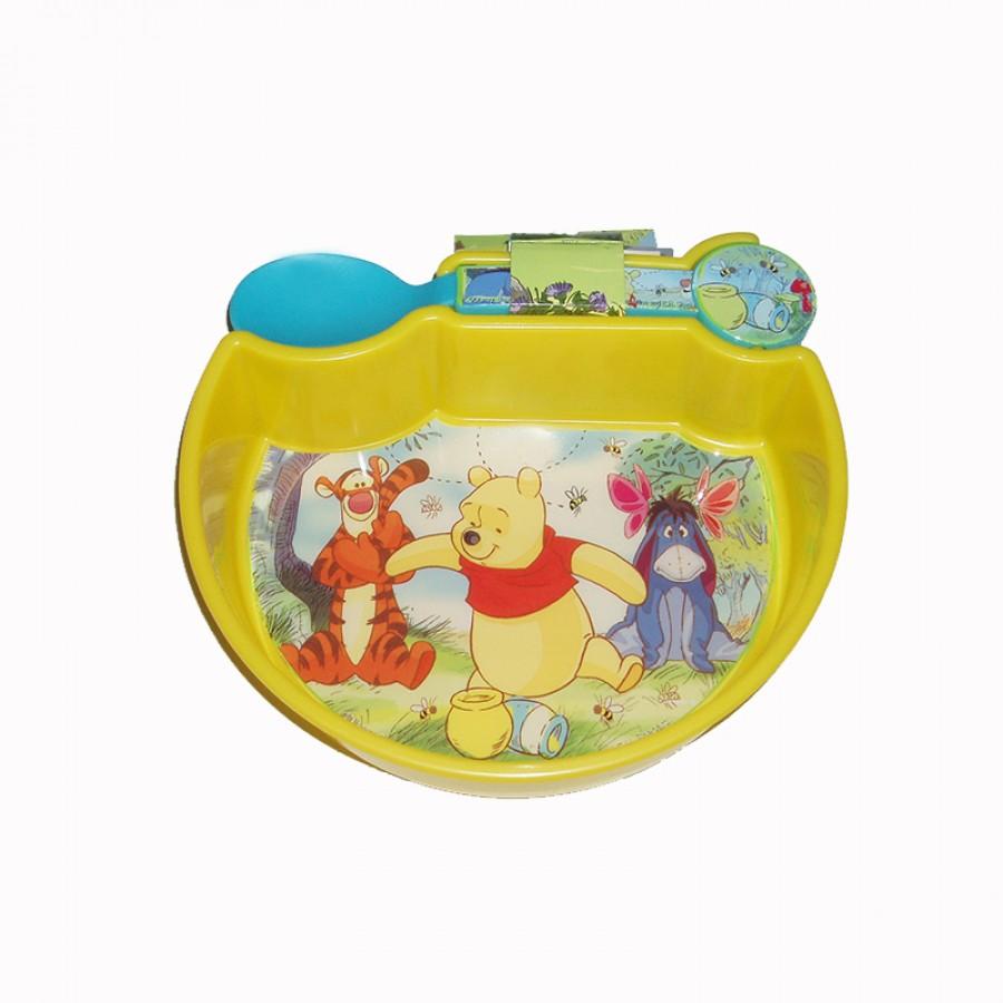 Πιατάκι με κουταλάκι Winnie the Pooh 15038